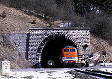 218 137 mit E3690 Warburg - Hagen am Messinghauser Tunnel