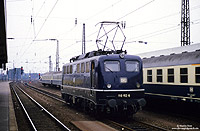 110 152, fotografiert in Hamm am 11.8.1986