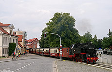 99 2322 am Haltepunkt Bad Doberan Stadtmitte